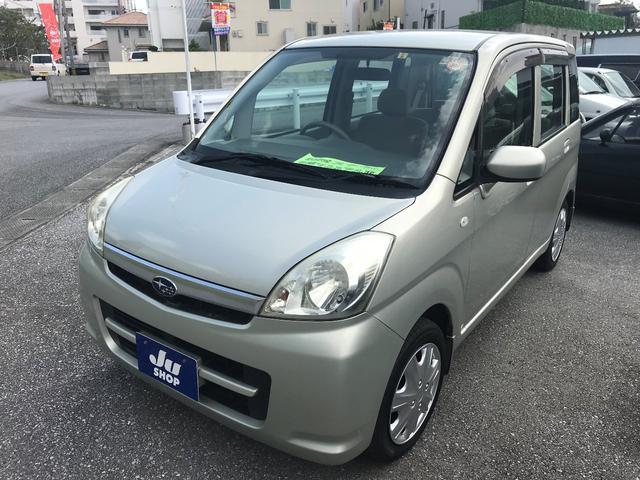 沖縄の中古車 スバル ステラ 車両価格 28万円 リ済込 平成20年 9.1万km ゴールドM
