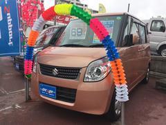 沖縄の中古車 スズキ パレット 車両価格 64万円 リ済込 平成23年 6.0万K オレンジ