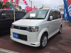 沖縄の中古車 三菱 eKスポーツ 車両価格 49万円 リ済込 平成23年 8.2万K ホワイト