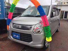 沖縄の中古車 スズキ ワゴンR 車両価格 63万円 リ済込 平成24年 3.5万K シルバー