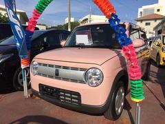 沖縄の中古車 スズキ アルトラパン 車両価格 94万円 リ済込 平成29年 0.3万K ピンク
