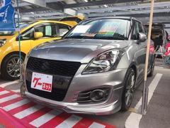 沖縄の中古車 スズキ スイフトスポーツ 車両価格 108万円 リ済込 平成25年 7.2万K シルバー