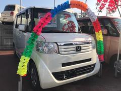 沖縄の中古車 ホンダ N BOX 車両価格 84万円 リ済込 平成25年 6.4万K パール