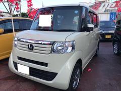 沖縄の中古車 ホンダ N BOX 車両価格 79万円 リ済込 平成25年 7.2万K クリーム