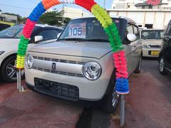 沖縄の中古車 スズキ アルトラパン 車両価格 99万円 リ済込 平成27年 1.9万K ベージュ