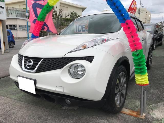 沖縄の中古車 日産 ジューク 車両価格 89万円 リ済込 2012(平成24)年 7.3万km パール