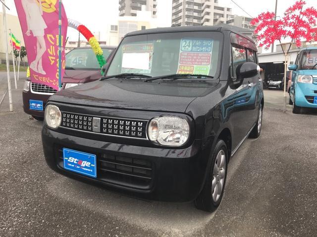 沖縄県の中古車ならアルトラパン 10thアニバーサリーリミテッド ナビ AW スマートキー