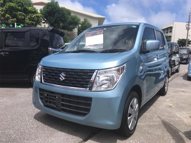 沖縄県の中古車ならワゴンR FX ナビ 軽自動車 衝突被害軽減システム