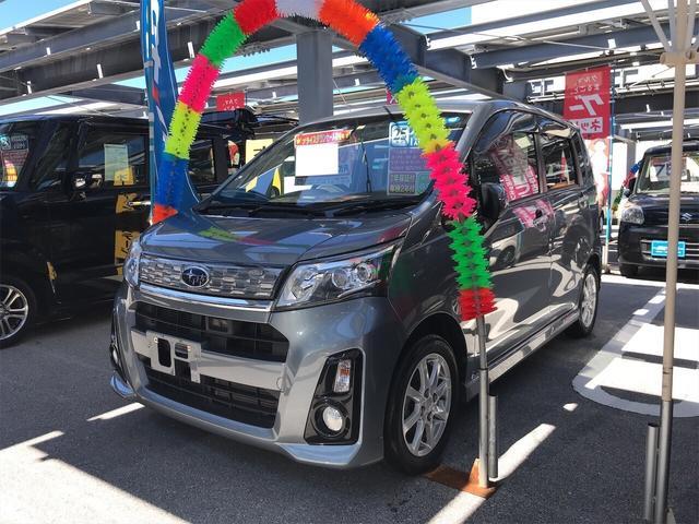 沖縄県の中古車ならステラ カスタムR スマートアシスト TV ナビ 軽自動車 ETC