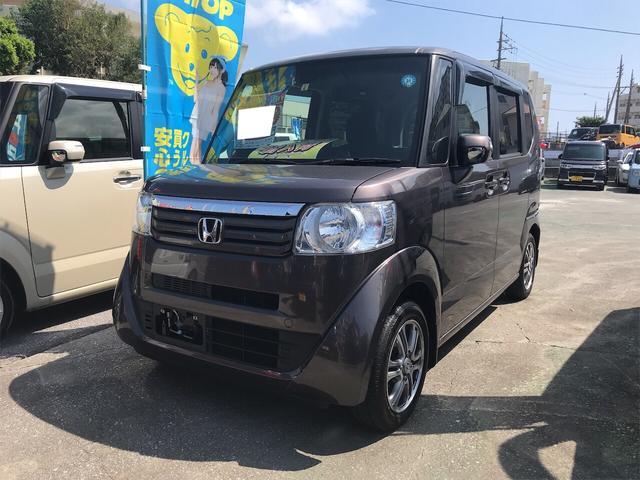 沖縄県の中古車ならN-BOX G SSパッケージ ナビ 軽自動車