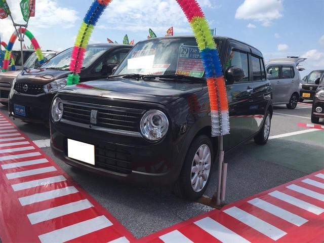 沖縄県の中古車ならアルトラパン Fリミテッド エスエネチャージ 全方位M AC RBS