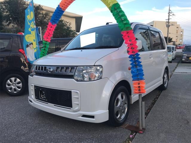 沖縄の中古車 日産 オッティ 車両価格 44万円 リ済込 2011(平成23)年 7.9万km ホワイト