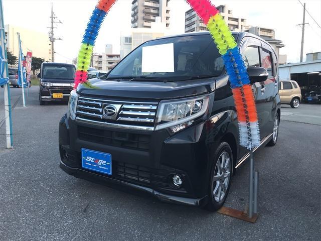 沖縄県の中古車ならムーヴ カスタム X SAII ナビ 軽自動車 衝突被害軽減システム