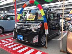 タントカスタムX SA TV ナビ 軽自動車 LED