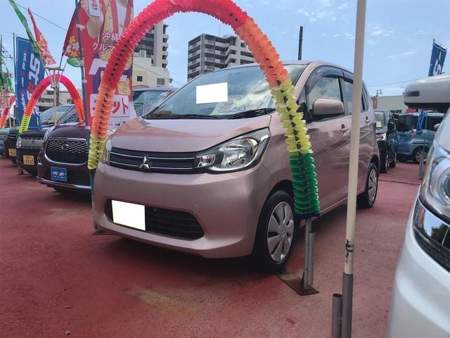 沖縄県の中古車ならeKワゴン M アイドリングストップ PW 電格ミラー キーレス