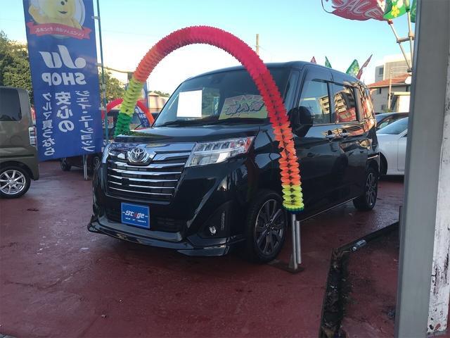 トヨタ ルーミー カスタムG-T オートクルーズ 両側Pスライドドア エアバッグ 盗難防止装置 衝突軽減システム