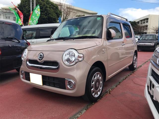 沖縄の中古車 ダイハツ ミラココア 車両価格 85万円 リ済込 2013(平成25)年 4.6万km ベージュ