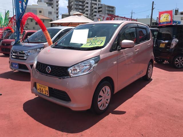 沖縄の中古車 日産 デイズ 車両価格 46万円 リ済込 2013(平成25)年 8.0万km ピンク