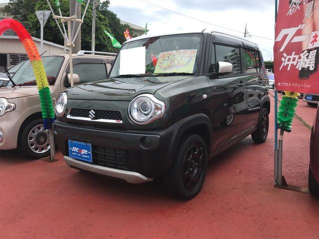 沖縄県の中古車ならハスラー Fリミテッド スマ-トキ- Sエネチャージ HID シートヒーター