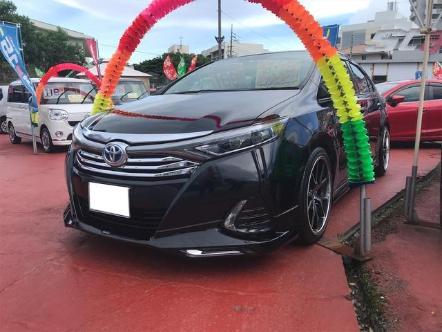 沖縄県中頭郡西原町の中古車ならSAI S TV ナビ バックカメラ Bluetooth接続可 プッシュスタート オートエアコン