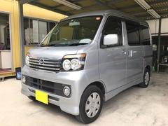 沖縄の中古車 ダイハツ アトレーワゴン 車両価格 75万円 リ済込 平成24年 9.2万K シルバー
