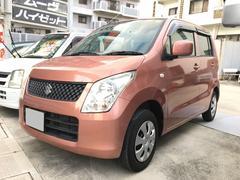 沖縄の中古車 スズキ ワゴンR 車両価格 35万円 リ済込 平成21年 8.6万K ピンク
