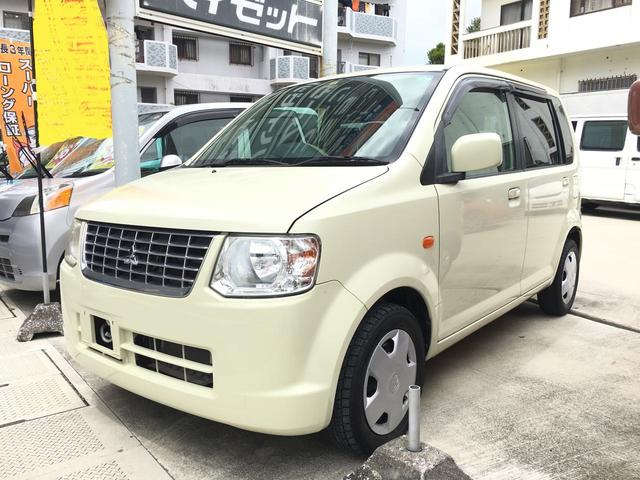 沖縄の中古車 三菱 eKワゴン 車両価格 36万円 リ済込 平成21年 4.9万km アイボリー
