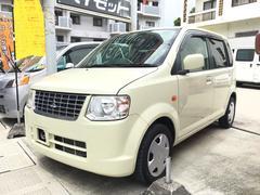 沖縄の中古車 三菱 eKワゴン 車両価格 38万円 リ済込 平成21年 4.9万K アイボリー