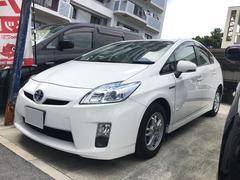 沖縄の中古車 トヨタ プリウス 車両価格 96万円 リ済込 平成22年 5.6万K ホワイト