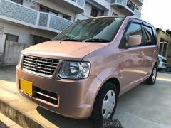 沖縄の中古車 三菱 eKワゴン 車両価格 32万円 リ済込 平成23年 8.0万K ピンク