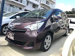沖縄の中古車 トヨタ ラクティス 車両価格 55万円 リ済込 平成24年 7.0万K パープル