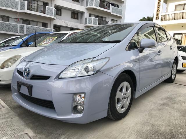 沖縄の中古車 トヨタ プリウス 車両価格 88万円 リ済込 平成23年 8.0万km ラベンダー