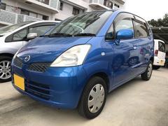 沖縄の中古車 日産 モコ 車両価格 18万円 リ済込 平成17年 11.7万K ブルー