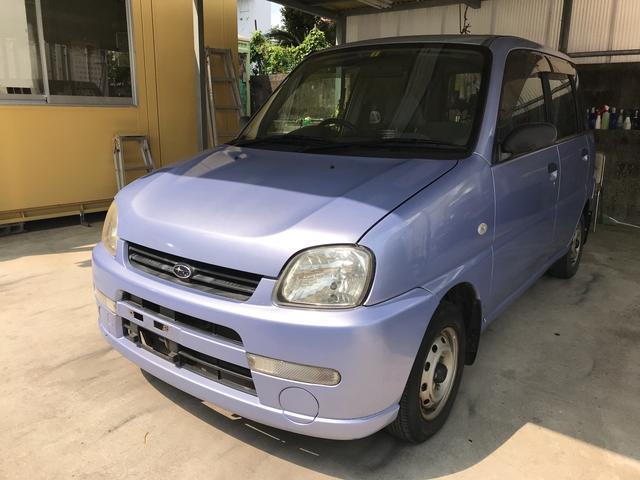 沖縄の中古車 スバル プレオ 車両価格 16万円 リ済別 2004(平成16)年 8.4万km パープル