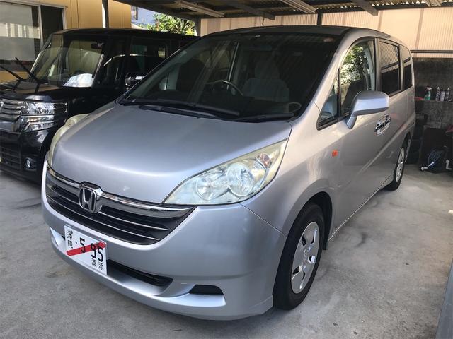 沖縄の中古車 ホンダ ステップワゴン 車両価格 33万円 リ済込 2006(平成18)年 12.1万km シルバー