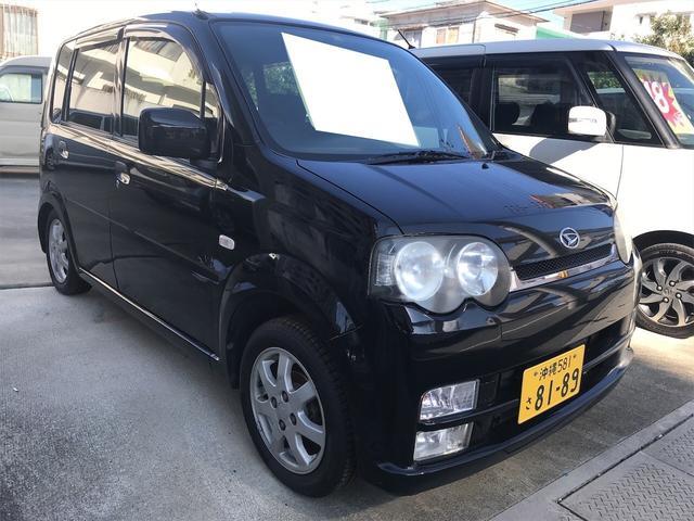 沖縄県の中古車ならムーヴ ブラックマイカ 車検整備付 AT AC AW