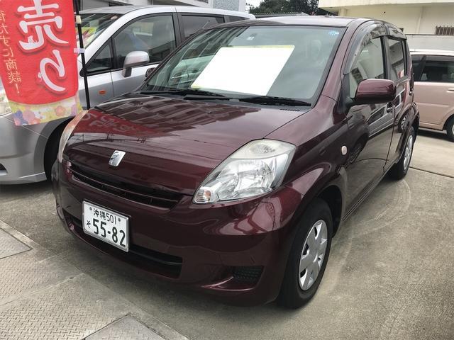 沖縄の中古車 トヨタ パッソ 車両価格 28万円 リ済込 2010(平成22)年 2.5万km ブラウン