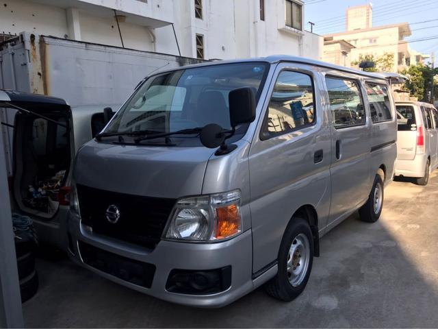 沖縄の中古車 日産 キャラバン 車両価格 58万円 リ済込 2008(平成20)年 19.3万km シルバー