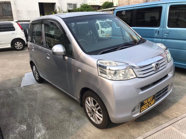 沖縄の中古車 ホンダ ライフ 車両価格 33万円 リ済込 2011(平成23)年 7.9万km シルバー