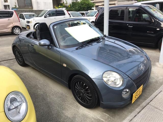 沖縄県の中古車ならコペン  AW オーディオ付 ETC 2名乗り オープンカー