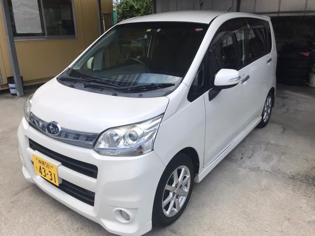 沖縄県浦添市の中古車ならステラ カスタムRリミテッド オートエアコン スマートキー CD Bluetooth