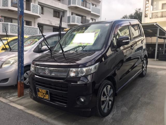 沖縄県浦添市の中古車ならワゴンRスティングレー リミテッドII バックモニター シートヒータ スマートキー ETC