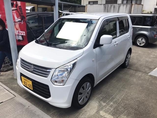 沖縄の中古車 スズキ ワゴンR 車両価格 38万円 リ済込 2013(平成25)年 9.2万km ホワイト