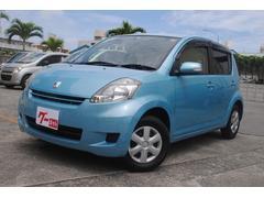 沖縄の中古車 トヨタ パッソ 車両価格 38万円 リ済込 平成20年 4.6万K ブルーM