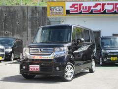 沖縄の中古車 ホンダ N BOXカスタム 車両価格 120万円 リ済込 平成24年 6.4万K ブラック