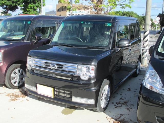 沖縄の中古車 ダイハツ ムーヴコンテ 車両価格 94万円 リ済込 平成25年 5.2万km ブラック
