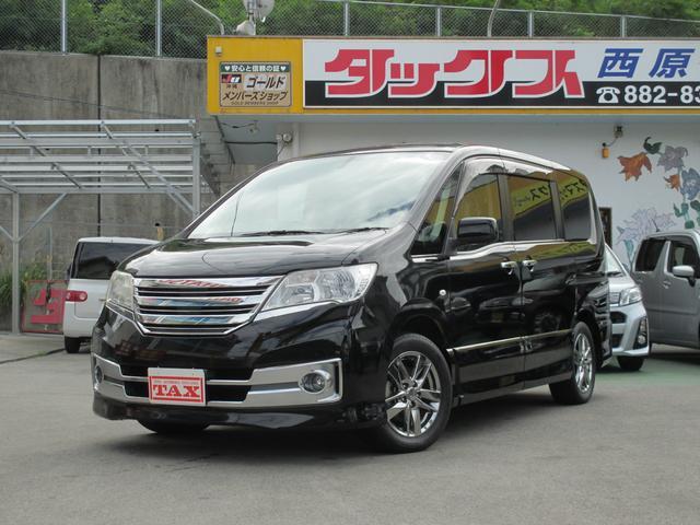 沖縄の中古車 日産 セレナ 車両価格 149万円 リ済込 2011(平成23)年 8.5万km ブラック