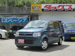 沖縄の中古車 三菱 eKワゴン 車両価格 44万円 リ済込 平成19年 7.2万K ブルー