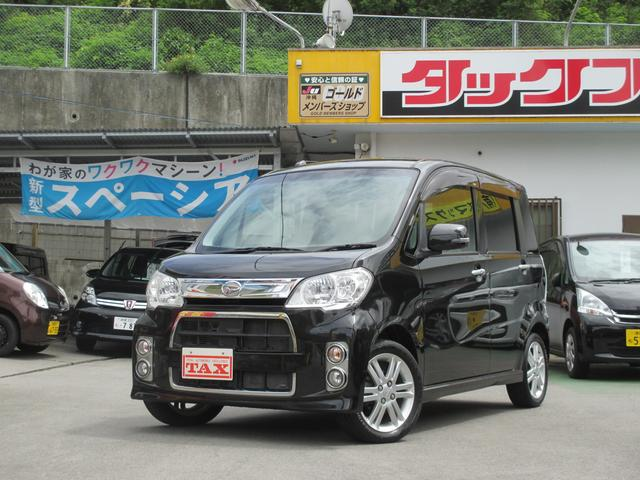 沖縄の中古車 ダイハツ タントエグゼ 車両価格 94万円 リ済込 平成24年 7.9万km ブラック