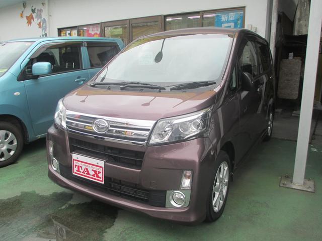 沖縄の中古車 ダイハツ ムーヴ 車両価格 84万円 リ済込 2013(平成25)年 6.6万km パープル